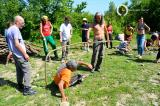 Osho Inipi Circle 21° anno - sabato, costruzione dell'Inipi camp