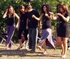 """Arshad Moscogiuri presentazione libro """"La psicologia dello Zorba"""" all'Osho Festival di Viareggio, september 2012 - dancing Staff"""