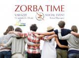 Il promo dell'evento Zorba Time con Arshad Moscogiuri a Varazze, Osho Arihant, agosto 2017